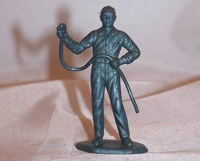Toy Plastic Air Force Mechanic With Tool