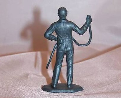 Image 1 of Toy Plastic Air Force Mechanic With Tool