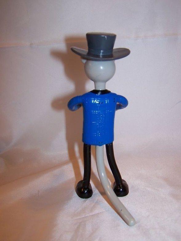 Image 2 of McDonald's Pinocchio Cat Bendable Toy, Miramax 2002