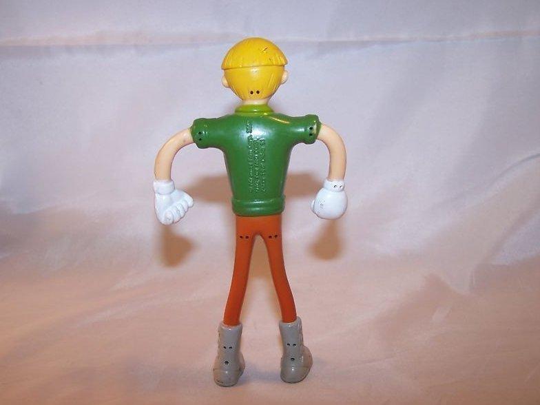 Image 1 of McDonald's Pinocchio Man Bendable Toy, 2002 Miramax