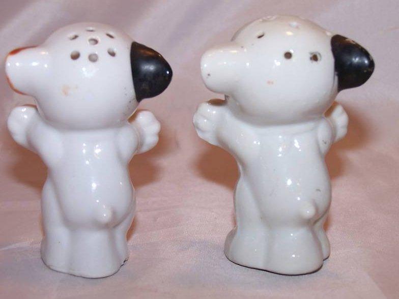 Bonzo Dog Dogs Salt And Pepper Shakers Shaker Set Japan