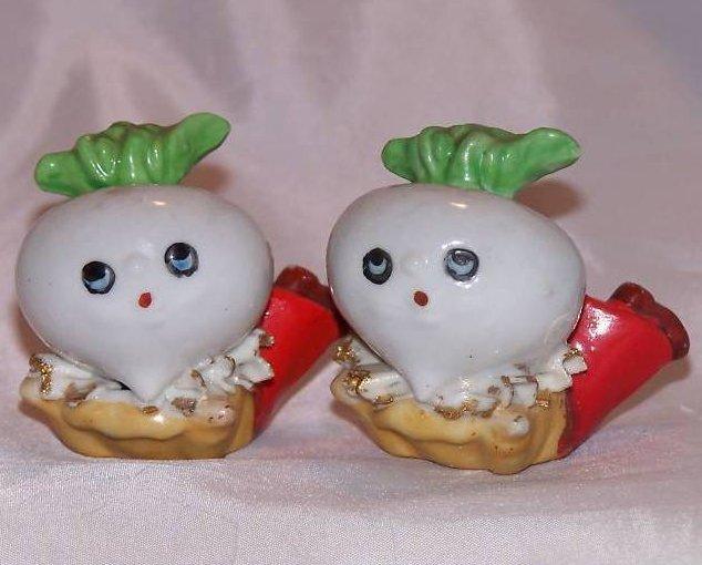 Image 0 of Turnip Salt and Pepper Shakers Shaker, Japan Japanese