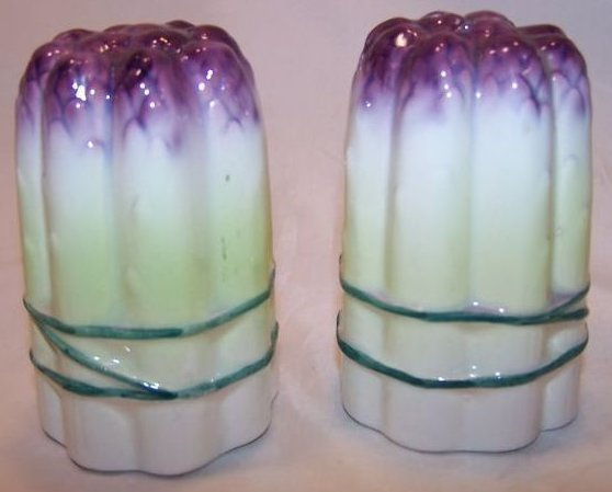 Asparagus Salt and Pepper Shakers Shaker, Japan Japanese