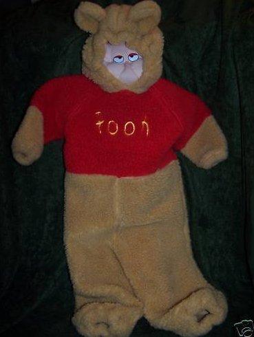 Winnie the Pooh Costume, Sz 2T, 4T Disney Store
