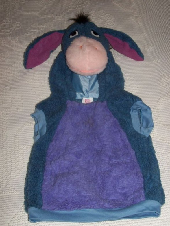 Eeyore Costume, Sz 1 to 2, Pullover Plush, Disney
