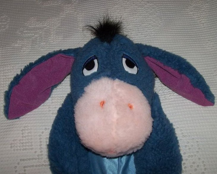 Image 1 of Eeyore Costume, Sz 1 to 2, Pullover Plush, Disney