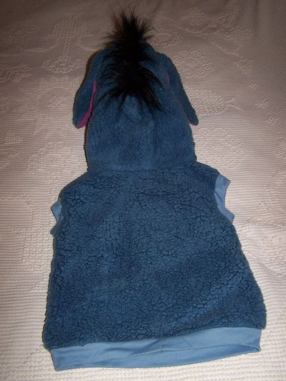 Image 2 of Eeyore Costume, Sz 1 to 2, Pullover Plush, Disney