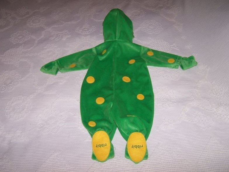 Image 1 of Frog Costume, Size 6 to 9 months, First Moments