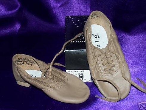 New in Box 10.5 M Youth Split Sole Jazz Dance Shoes