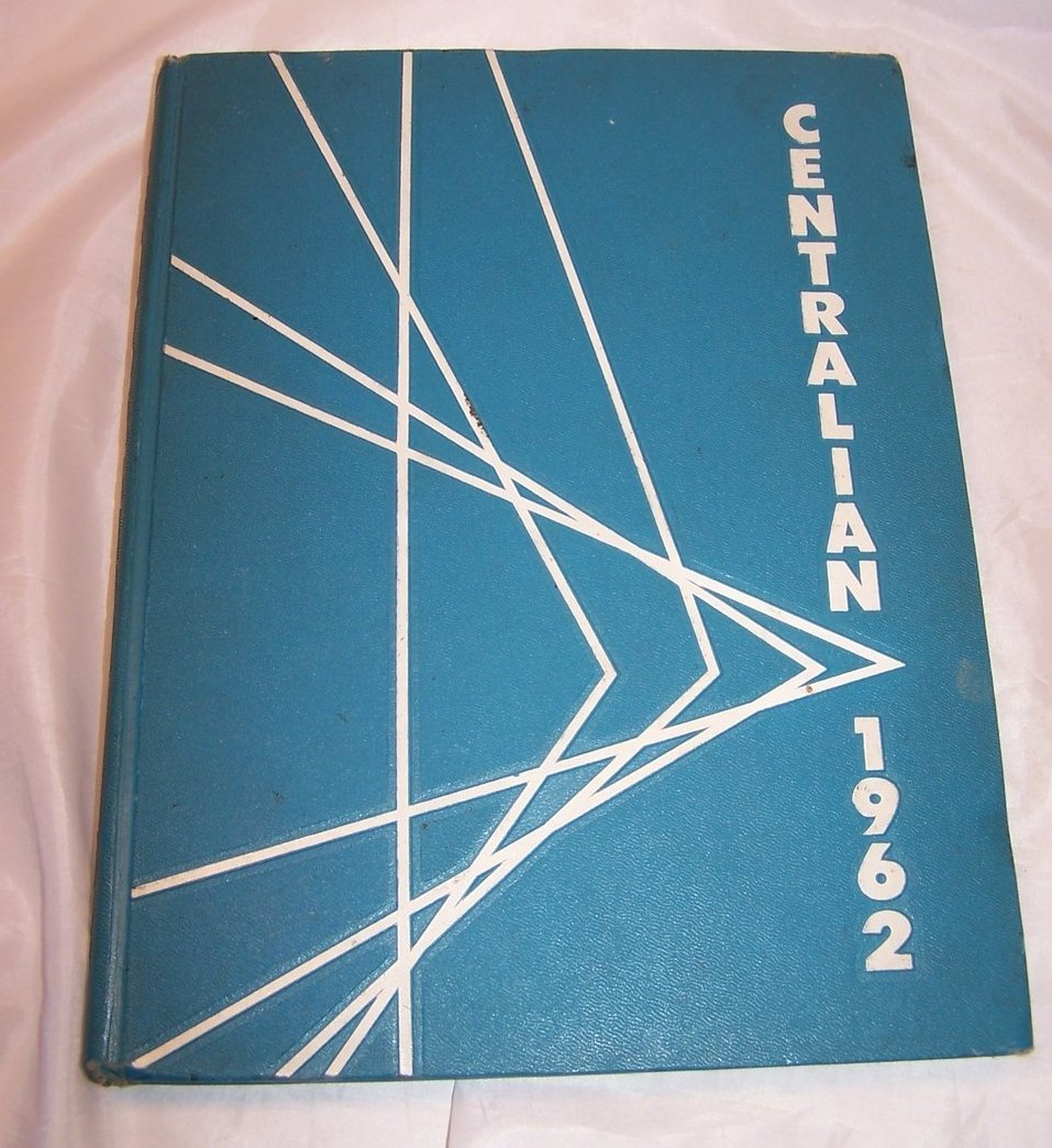 1962 Central State College, Wilberforce Ohio Annual Yearbook