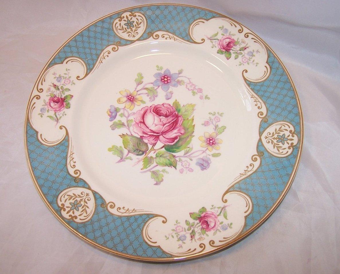 Staffordshire Rose, Myott, Dinner Plate