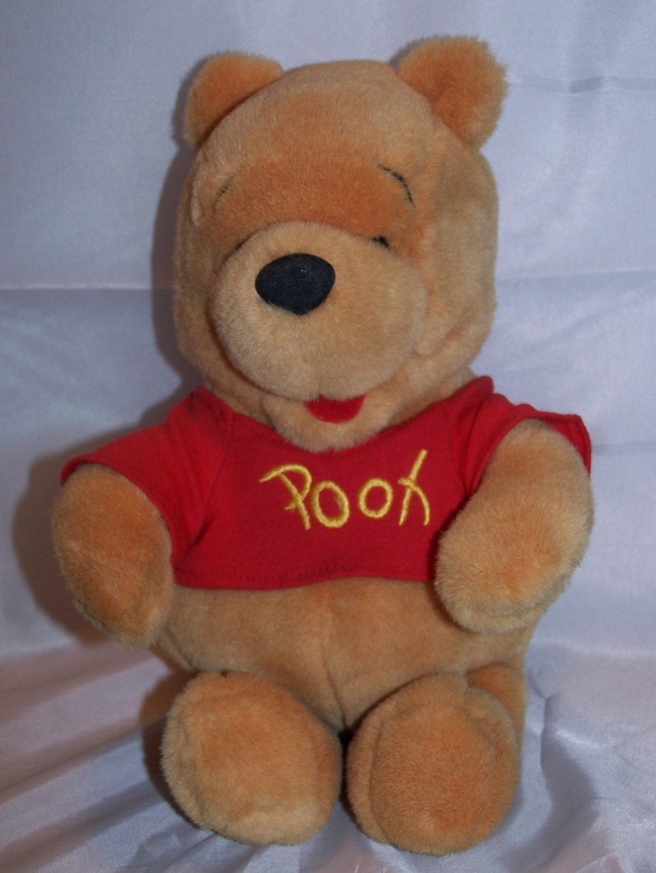 Winnie The Pooh Stuffed Plush 9 Inch Disney