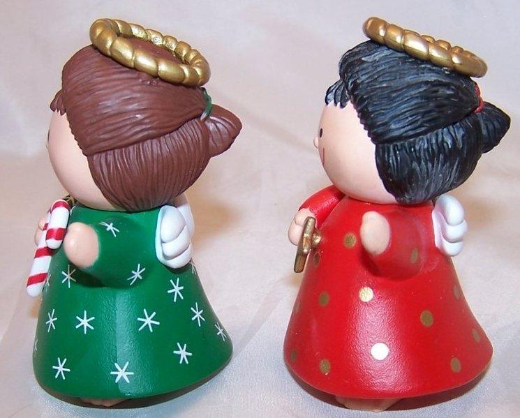 Image 1 of Christmas Angel Salt and Pepper Shakers Shaker Set, Hallmark