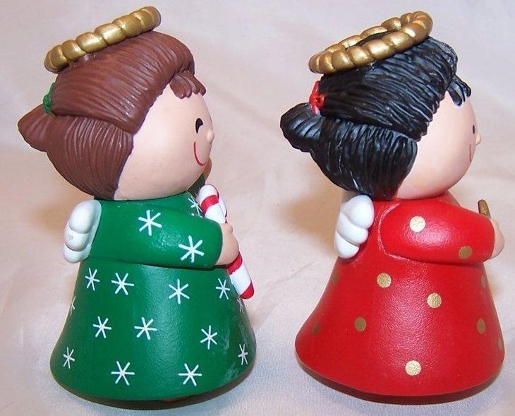 Image 3 of Christmas Angel Salt and Pepper Shakers Shaker Set, Hallmark
