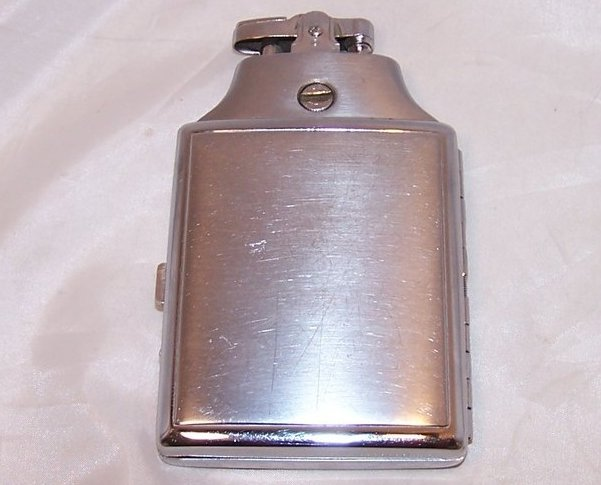 Image 1 of Ronson Mastercase Lighter, Cigarette  Case, Instructions, Refillable