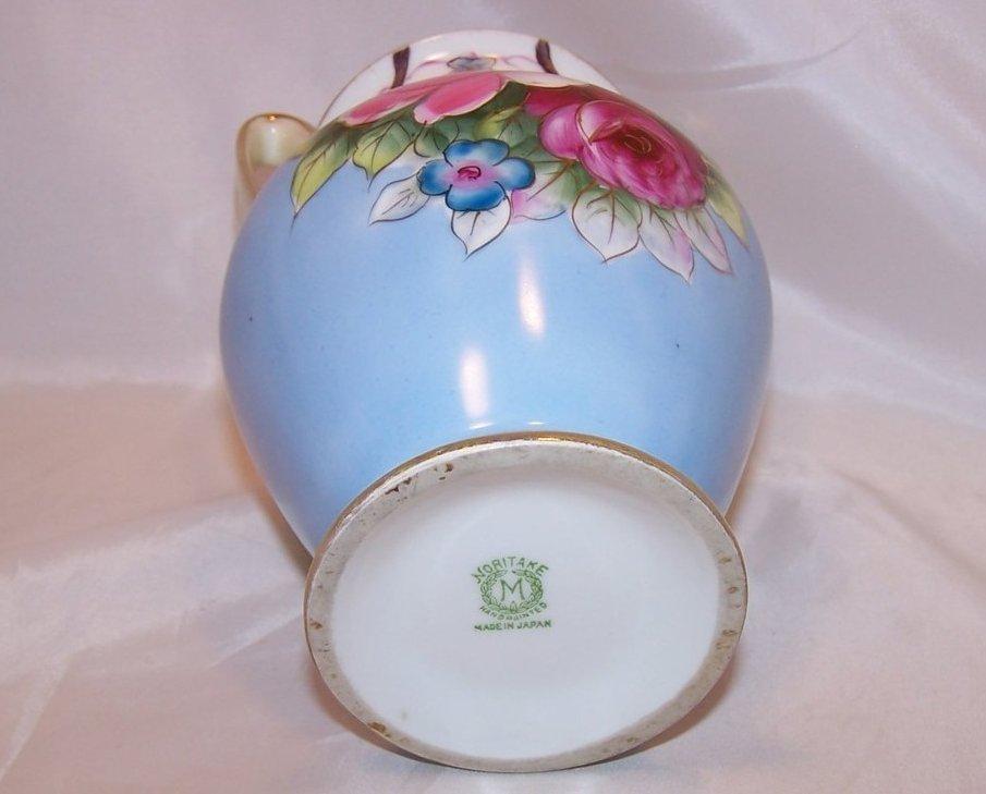 Double Handled Hand Painted Vase Noritake Japan Japanese