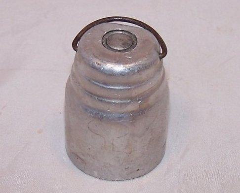Barrel Shaped Pressure Cooker Weight, Bail Handle, Vintage