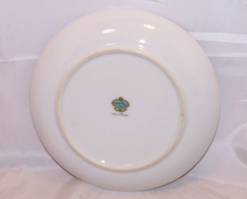 Image 1 of 8 Inch Tulip Salad Plate, Sango China, Occupied Japan