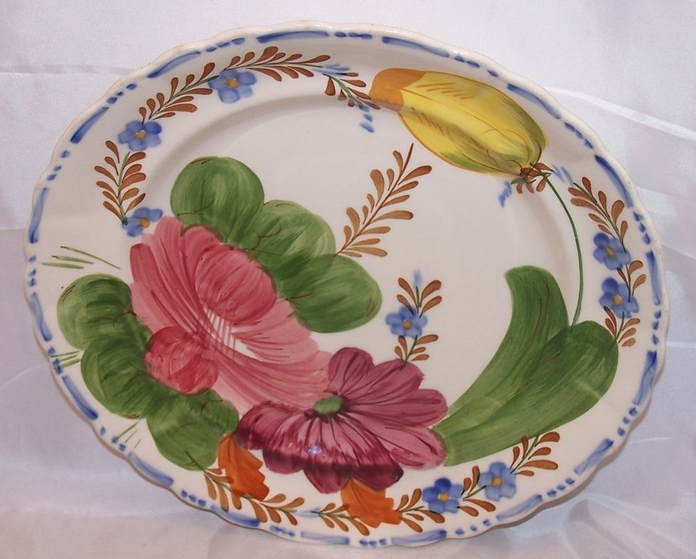 Image 0 of Belle Fiore Fondeville Dinner Plate, England 521