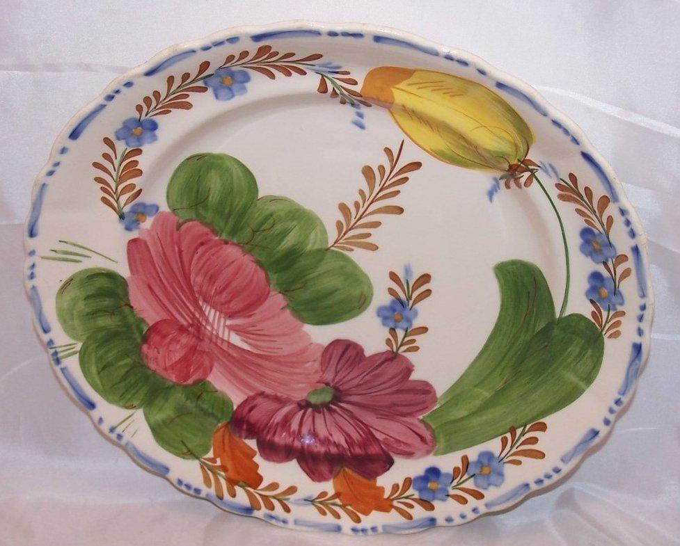 Belle Fiore Fondeville Dinner Plate, England 521