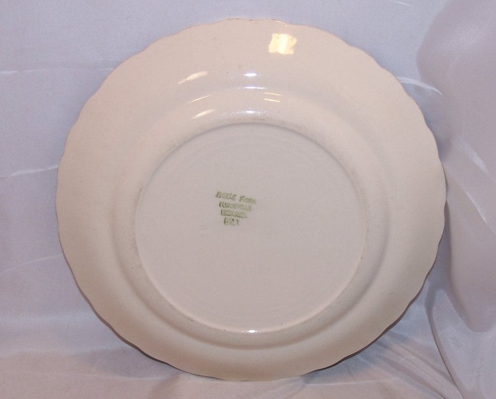 Image 1 of Belle Fiore Fondeville Dinner Plate, England 521