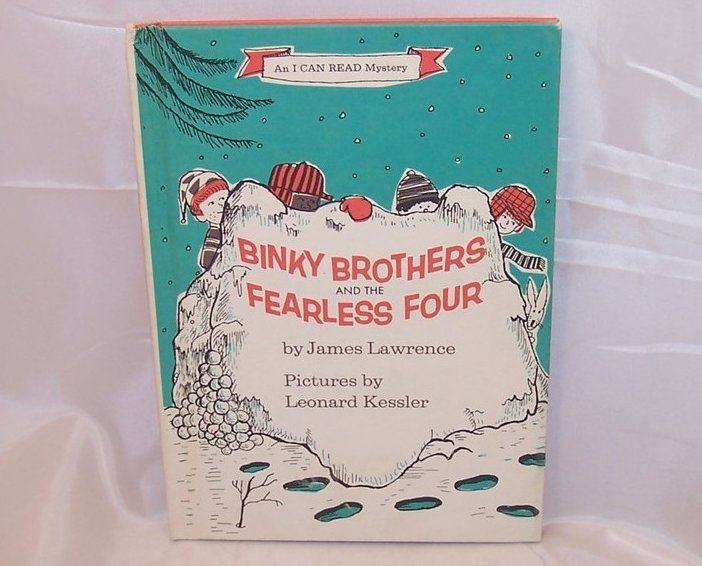 Binky Brothers and the Fearless 4, I Can Read Mystery, 1970