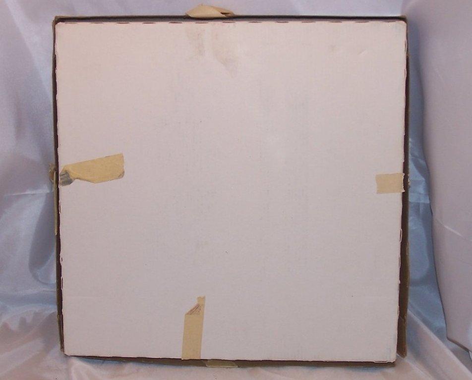 Image 5 of Seabreeze Crystal Platter, Arcoroc, J G Durand, Original Box