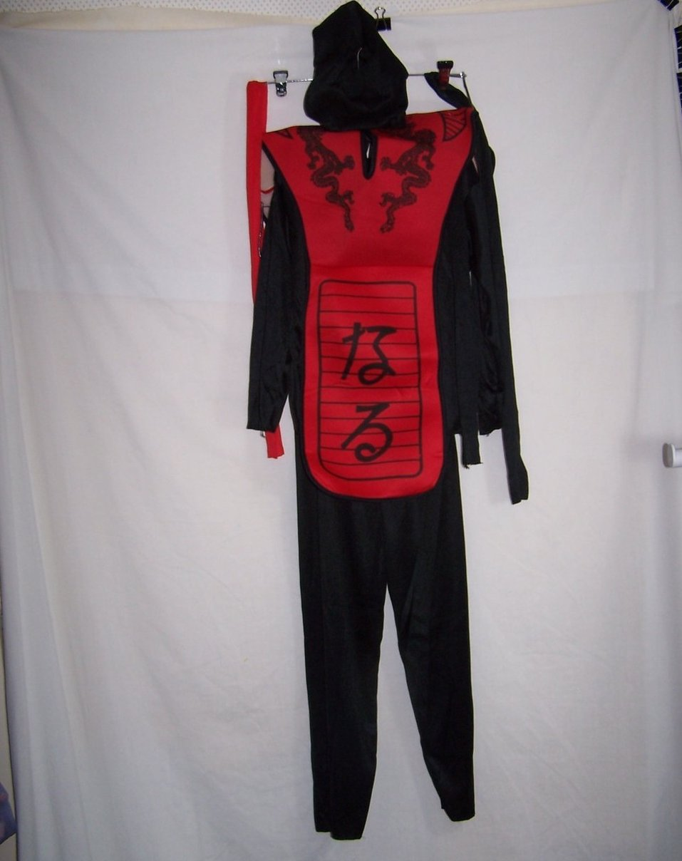 Ninja Costume in Orig Package, Sz 7 to 10