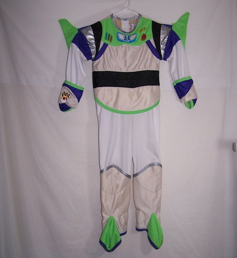 Buzz Lightyear Costume, Sz 4 to 6T, Disney