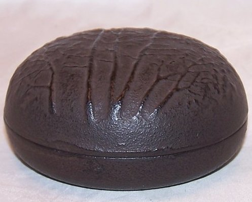 Image 1 of Cast Iron Tree Trinket Box, Paperweight