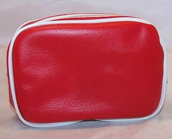 Image 2 of TWA Airline Mini Travel Case w Supplies, Vintage Authentic