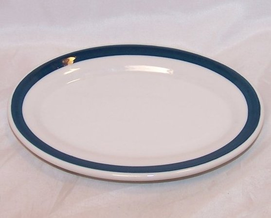 Bread Plate, Saucer, International Hotel Supply Co, Jackson China Co