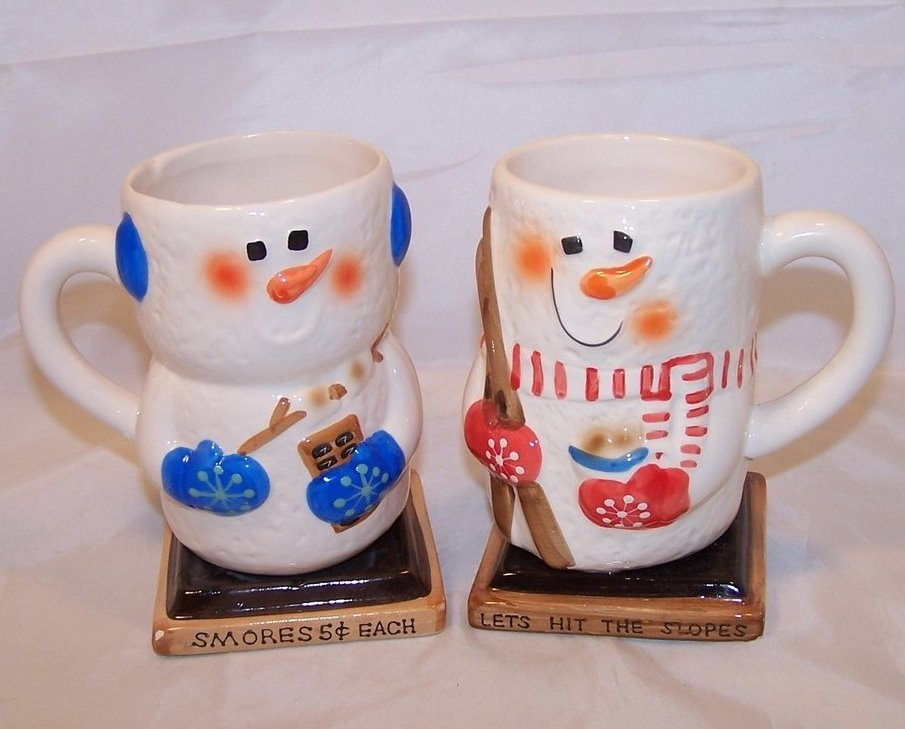 Smore Cocoa Mug Cups, Cup, Happy Pair