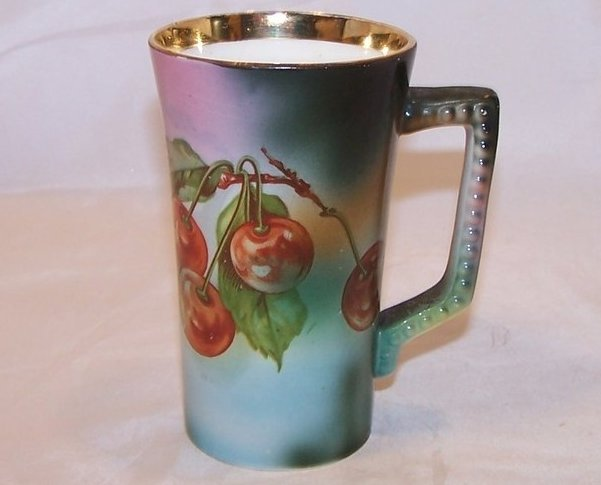 Rare USONA Goodwin Cup, Cherry Tree Pattern, Dragon Sea Serpent Logo, 1912