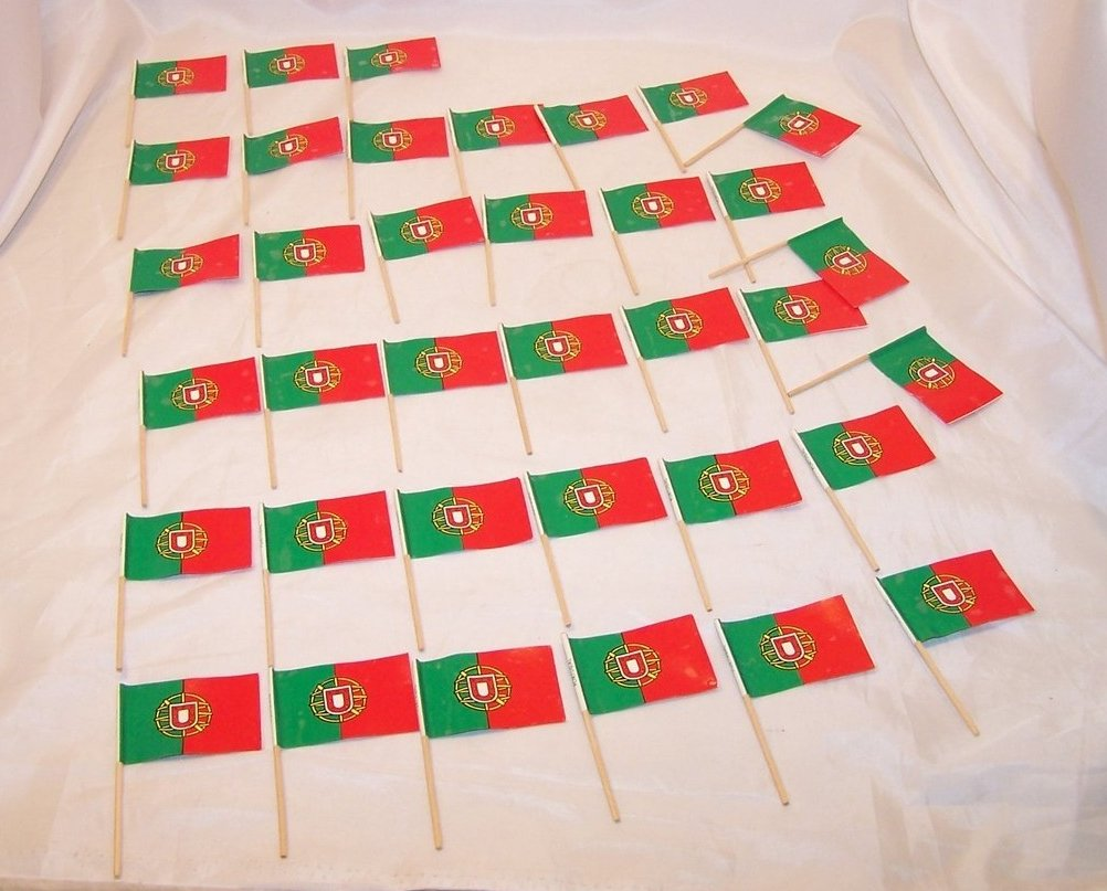 Portugese Flags Miniature 36 Portugal