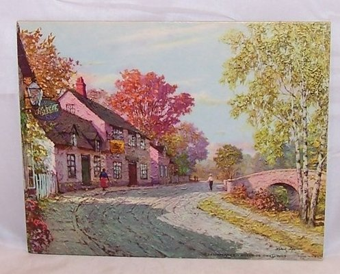 Roadside Dwellings By Robert Spencer Dac Lithograph Usa
