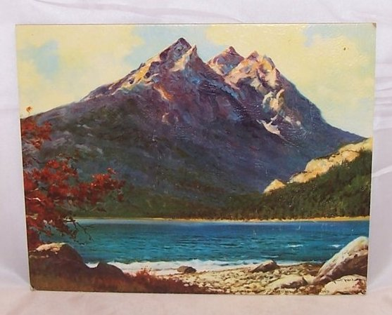 Autumn in the Tetons by Robert Wood, DAC Lithograph, USA