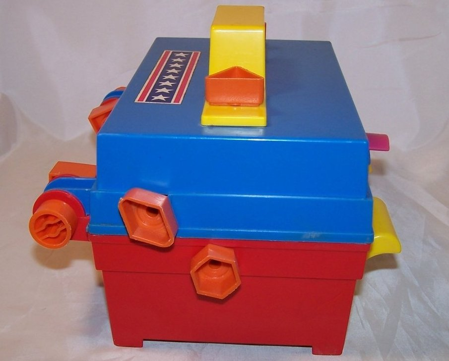 Image 1 of Take A Part Tool Box, Child Guidance Toy, Complete, Vintage