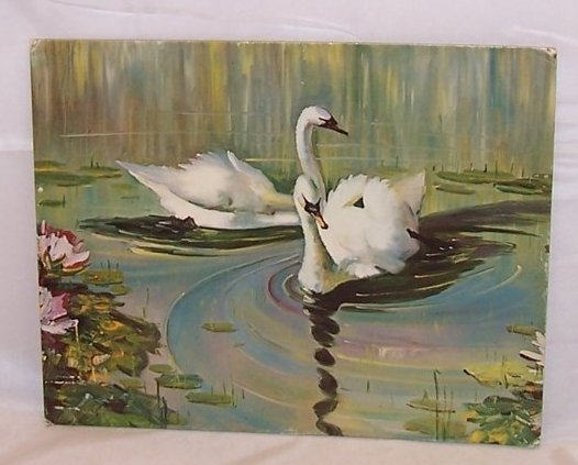 Swan Lake by Jean Marie, Lithograph, USA