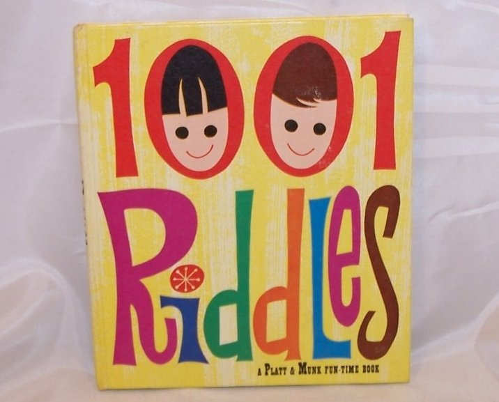 1001 Riddles for Children, Compiled by George L Carlson, 1949