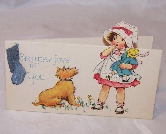 Vintage Gibson Birthday Card, Unused