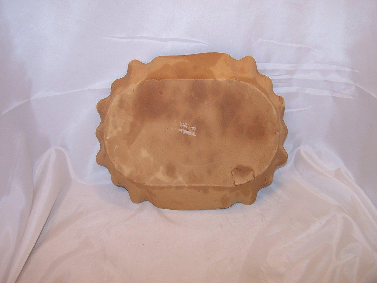 Image 1 of Snow White Paper Serving Bowl, Vintage German, Great Collectors Piece