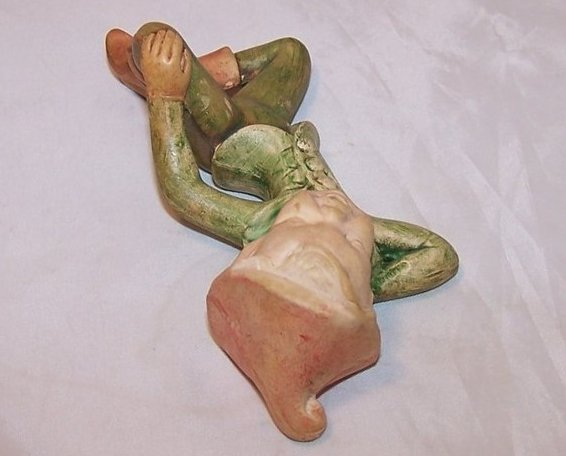 Image 3 of Holland Mold Elf, Pixie Figurine Relaxing