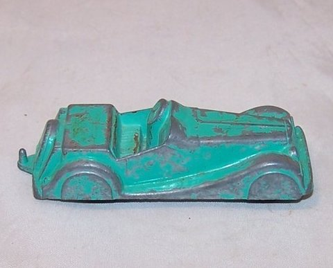 MidgeToy Green Die Cast Metal Toy Car, USA, Midge Toy