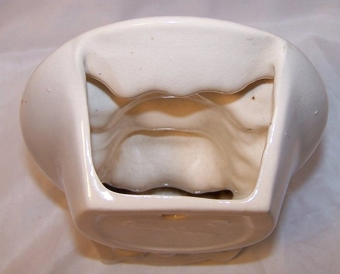 Image 4 of Royal Copley Pigtail Girl Wall Pocket Head Vase