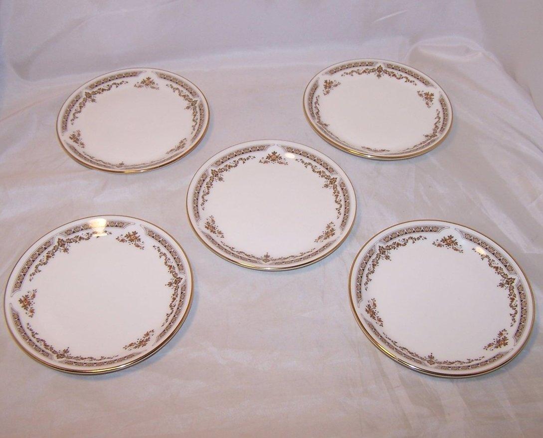 Image 1 of Royal Doulton WD Small Plate, Dish, Gold Rim, Bone China
