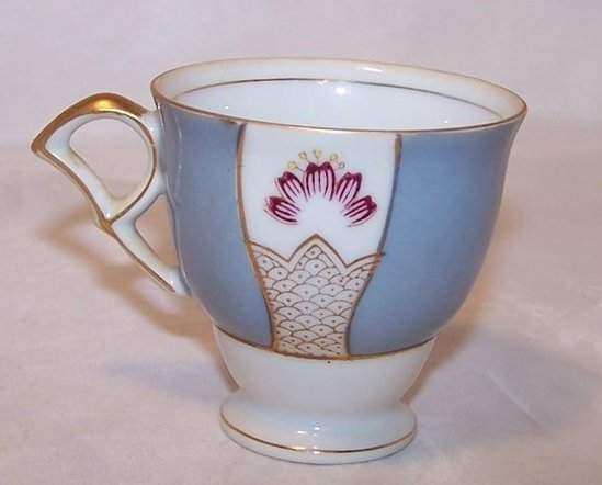 Ucagco P Handle Teacup, Demitasse Cup, Japan