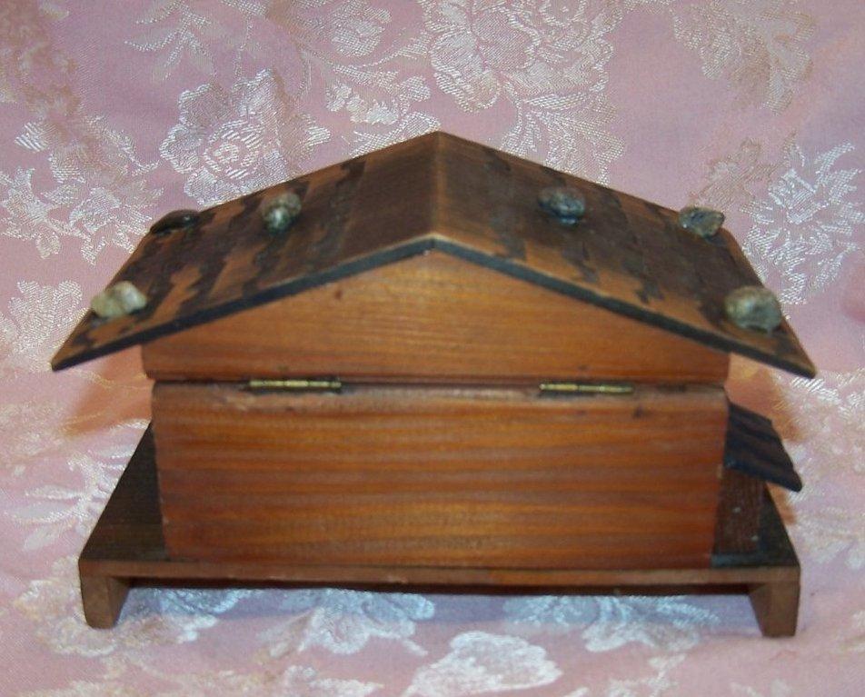 Image 2 of Reuge Swiss Chalet Music Box, Blue Danube