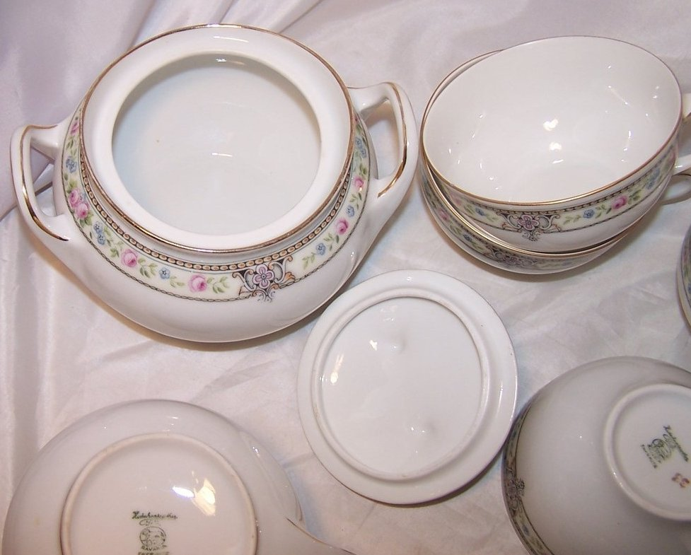 Image 2 of Hutschenreuther Selb Bavaria, Favorite, Dish Set, 20 Pieces
