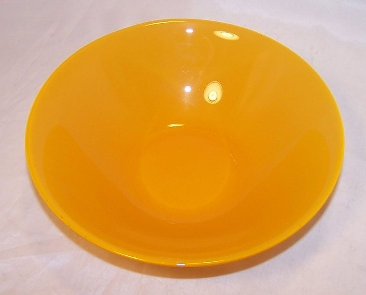 Image 0 of Soup Bowl, Luscious Lemon Yellow, ARC France